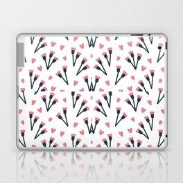 Modern Lovely Flower Pattern Art Laptop & iPad Skin