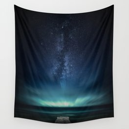 Space Dock Wall Tapestry