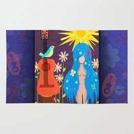 Music Makes Love and Love Makes Music Rug