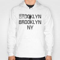 brooklyn Hoodies featuring BROOKLYN BROOKLYN by LERN