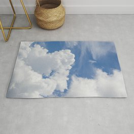 Fluffy Puffy Clouds in the Florida Sky Rug