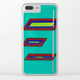 Transcendental Planes Clear iPhone Case