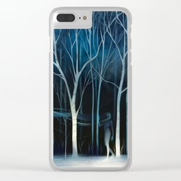 sleeted Clear iPhone Case