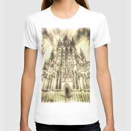 York Minster Cathedral Vintage T-shirt