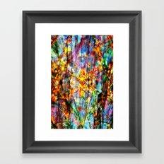 Colorful Symphony of Spring  Framed Art Print