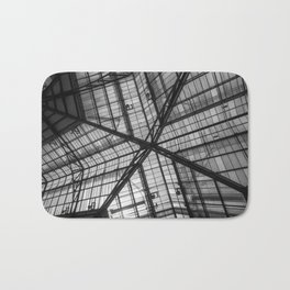 Liverpool Street Station Glass Ceiling Abstract Bath Mat