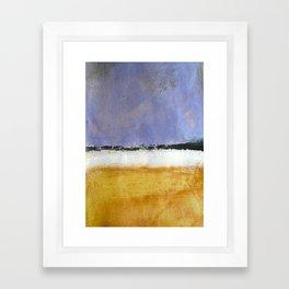 Mark Rothko Interpretation Acrylics On Paper Framed Art Print