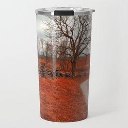 Bloody Red Lane Travel Mug