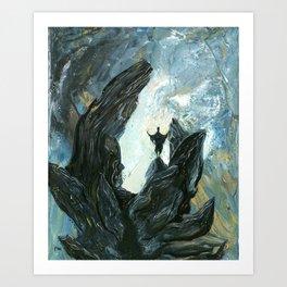 Ritualistic Theatricality Art Print