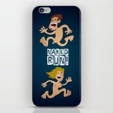 Naked Run! iPhone & iPod Skin