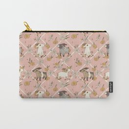 goat pattern 2 Carry-All Pouch