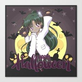 Happy Halloween Setsuna Canvas Print