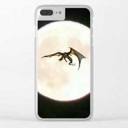 Moondragon 4 Clear iPhone Case