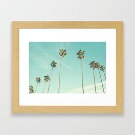 Palm Trees 2 Framed Art Print