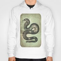 snake Hoodies featuring Snake by LoRo  Art & Pictures