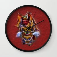 theatre Wall Clocks featuring Chinese Theatre by Lucia
