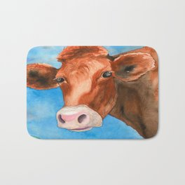 Red Heifer Bath Mat