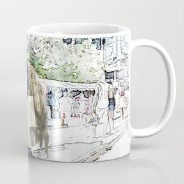 Love One Another - Steampunk Angel Coffee Mug