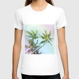 Relaxing Rainbow Color Palms T-shirt