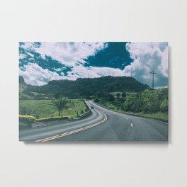 hitchhike Metal Print