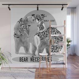 Bear Necessities #1 Bearly Secret Wall Mural