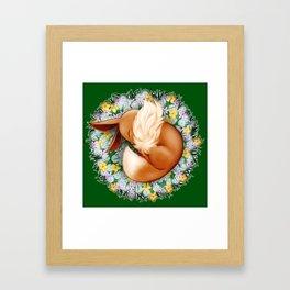 Peaceful Sleep (Eevee) Framed Art Print