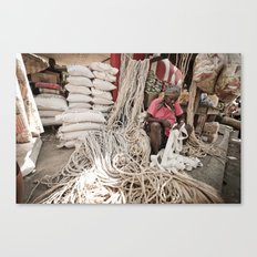 The Ropemaker Canvas Print