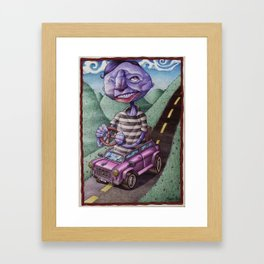 The Distance Is Nearsighted Framed Art Print