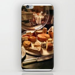 Cheese Cart at Chateau De Fere, France iPhone Skin