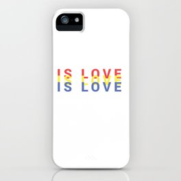 Is Love, Is Love, Is Love // RYB iPhone Case