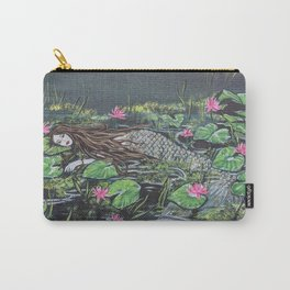 Mermaid,lilypads Carry-All Pouch