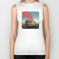breaking bad Biker Tanks featuring breaking bad by robotrake
