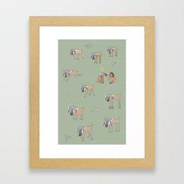 My Naked Yaks Framed Art Print