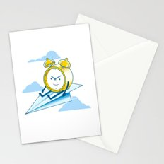 Times Flies Stationery Cards
