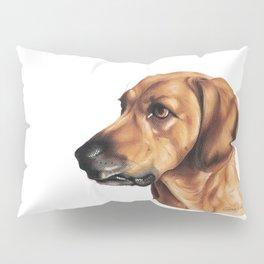 Dog Artwork in coloured pencil Pillow Sham
