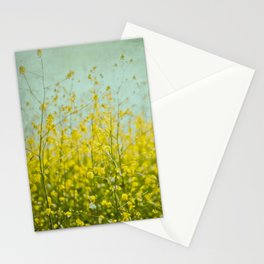 Wildflowers - Mustard Plant Stationery Cards