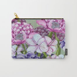 Fanciful Garden Carry-All Pouch