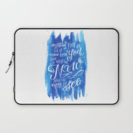 You Keep Moving On [Sunday In The Park With George] Laptop Sleeve