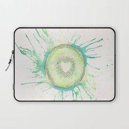 Juicy Watercolor Kiwi Laptop Sleeve
