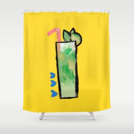 Miami Mojito Shower Curtain