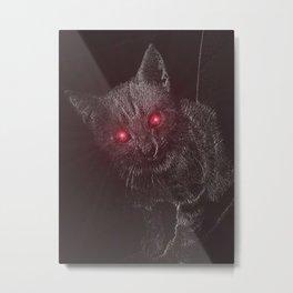 Bad Kitty! Metal Print