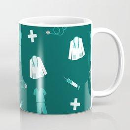 Medical Professional Pattern Coffee Mug