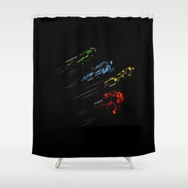Take to the Skies Shower Curtain