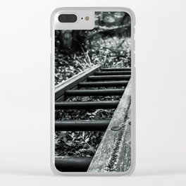 Wood Stains Clear iPhone Case