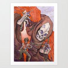 The Razor's Edge Art Print