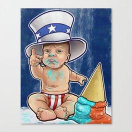 Sammy Boy Canvas Print