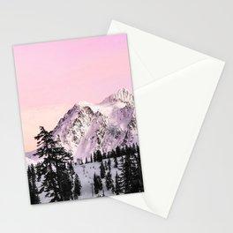 Sunrise on Shuksan Stationery Cards