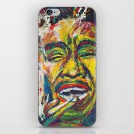 Rastafari Bob iPhone Skin
