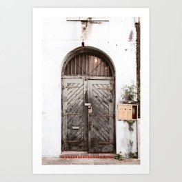 New Orleans Doorway Art Print