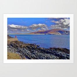 Rocky Atlantic Shore Art Print